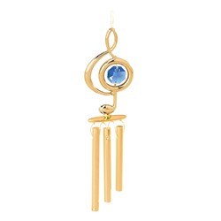 24k Gold Plated Wind Chimes
