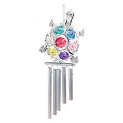 Chrome Plated Wind Chimes